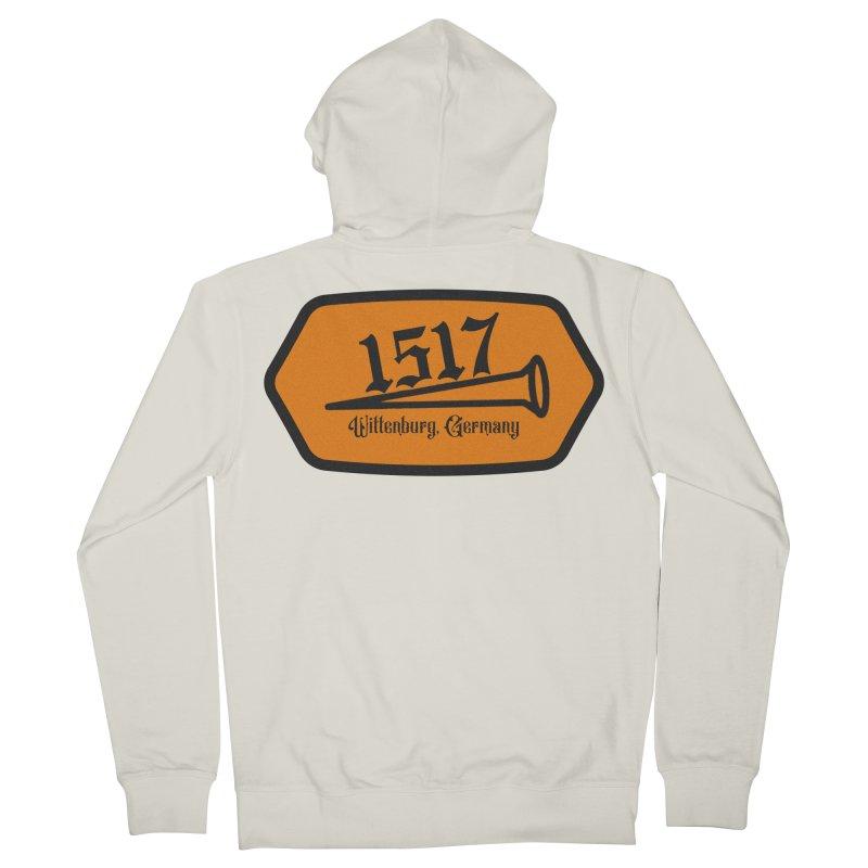 1517 (Orange) Women's Zip-Up Hoody by JARED CRAFT's Artist Shop