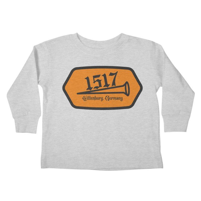 1517 (Orange) Kids Toddler Longsleeve T-Shirt by JARED CRAFT's Artist Shop