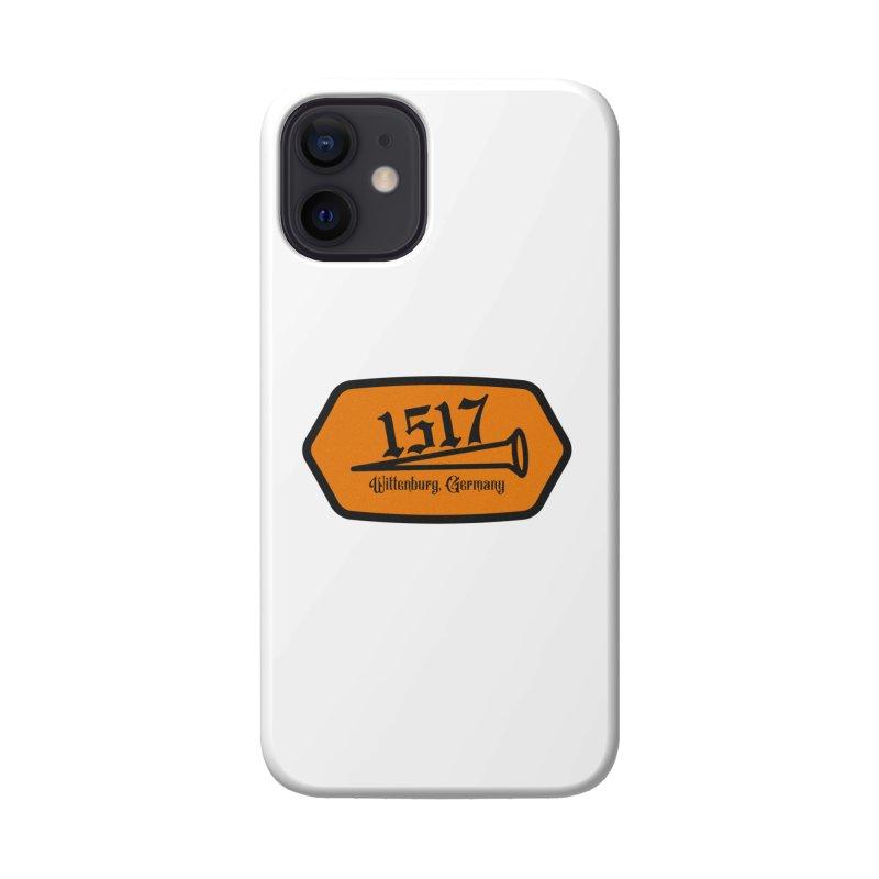 1517 (Orange) Accessories Phone Case by JARED CRAFT's Artist Shop