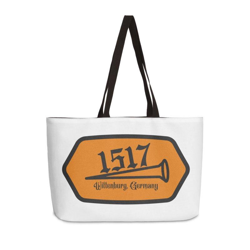 1517 (Orange) Accessories Bag by JARED CRAFT's Artist Shop