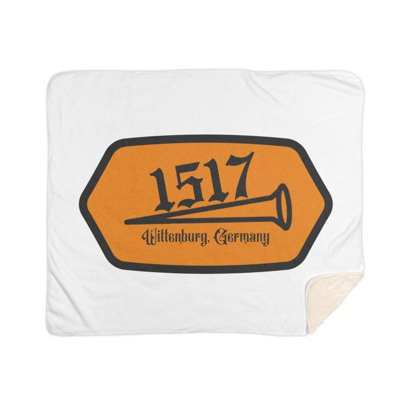 1517 (Orange) Home Blanket by JARED CRAFT's Artist Shop