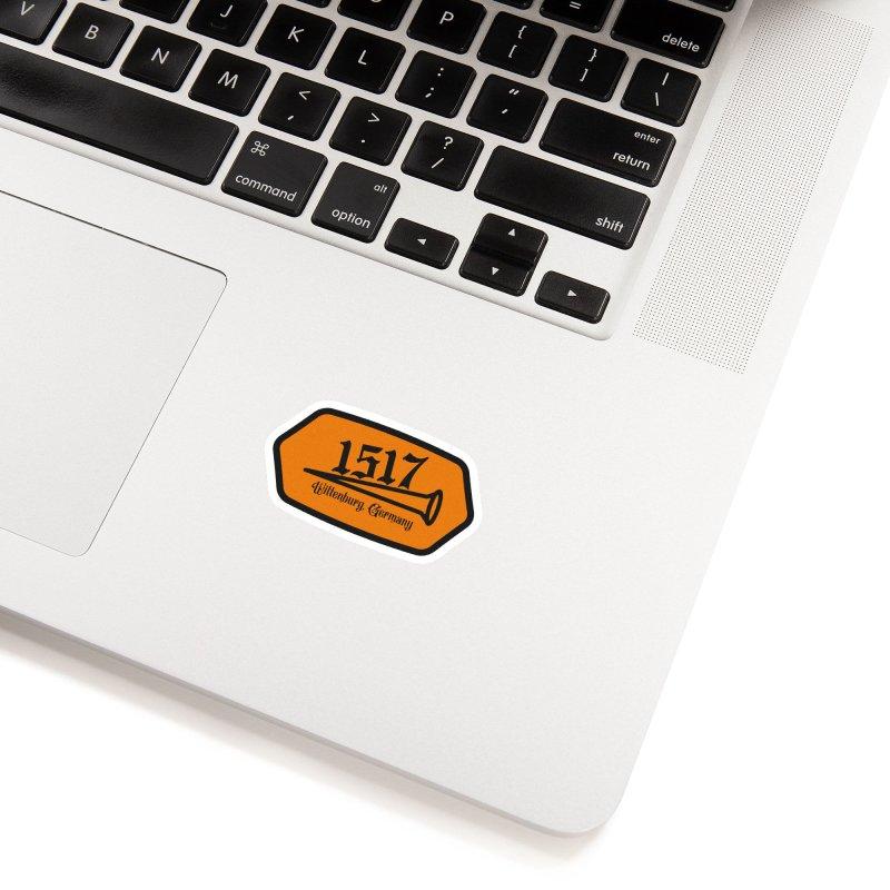 1517 (Orange) Accessories Sticker by JARED CRAFT's Artist Shop