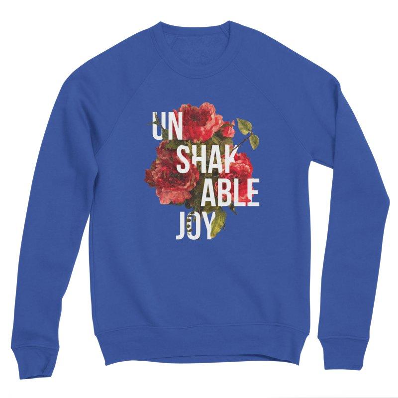 Unshakable Joy Men's Sweatshirt by JARED CRAFT's Artist Shop