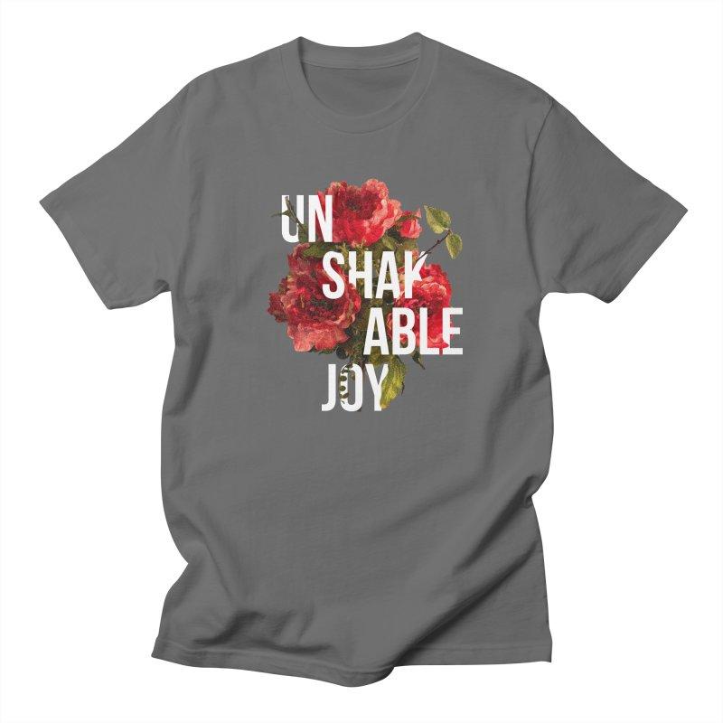 Unshakable Joy Men's T-Shirt by JARED CRAFT's Artist Shop
