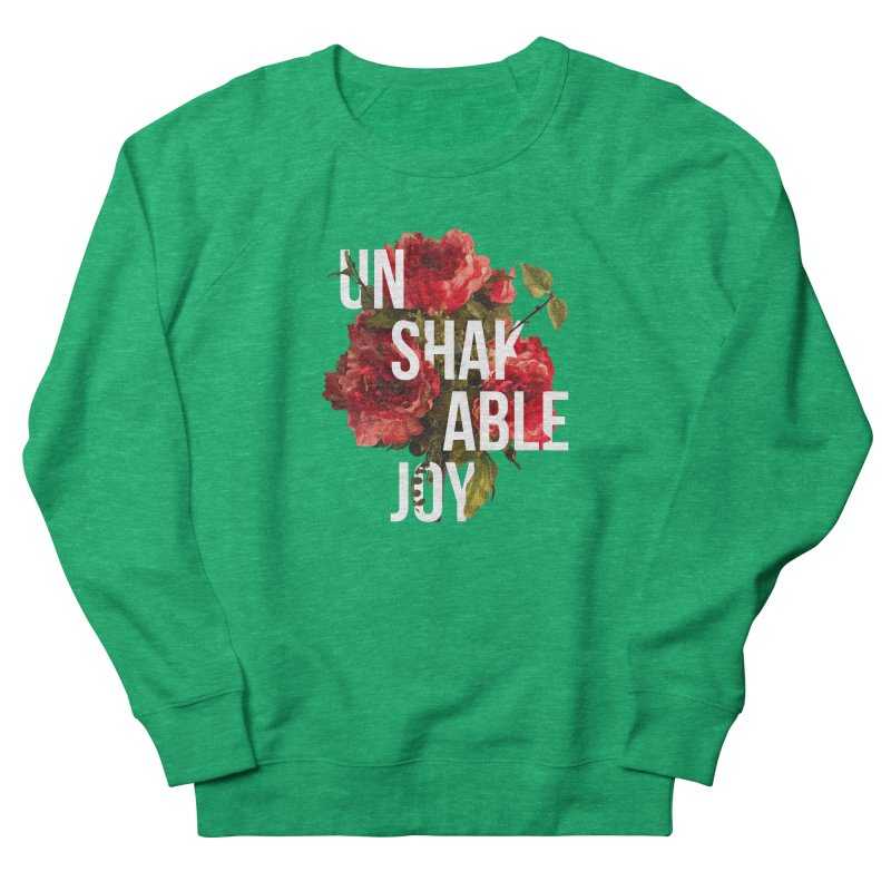 Unshakable Joy Women's Sweatshirt by JARED CRAFT's Artist Shop