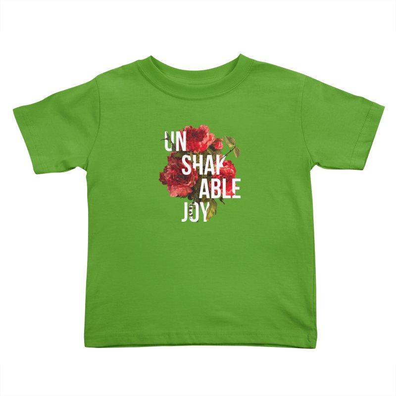 Unshakable Joy Kids Toddler T-Shirt by JARED CRAFT's Artist Shop