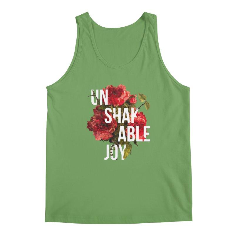 Unshakable Joy Men's Tank by JARED CRAFT's Artist Shop