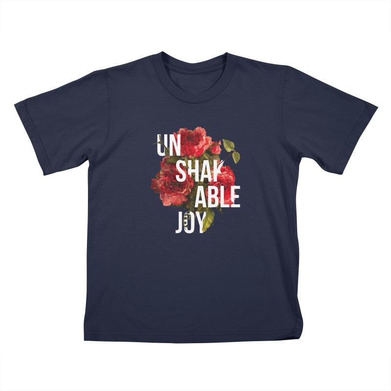 Unshakable Joy Kids T-Shirt by JARED CRAFT's Artist Shop