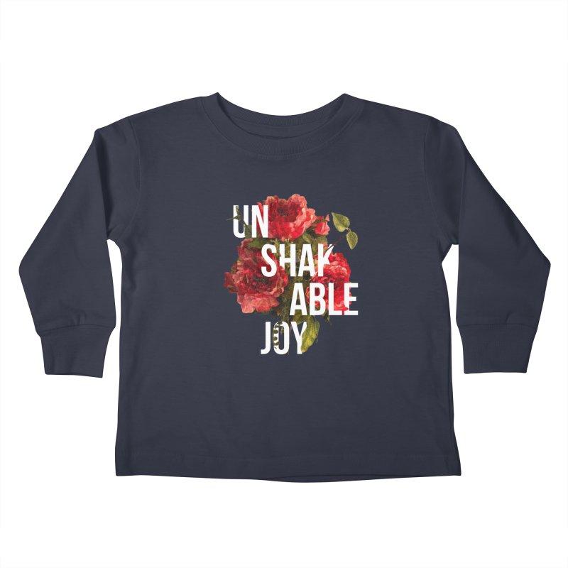 Unshakable Joy Kids Toddler Longsleeve T-Shirt by JARED CRAFT's Artist Shop
