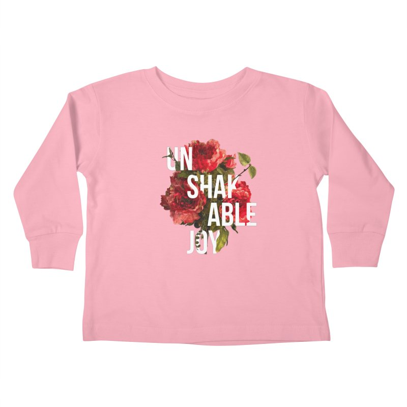 Unshakable Joy Kids Toddler Longsleeve T-Shirt by JARED CRAFT's Artist Shop