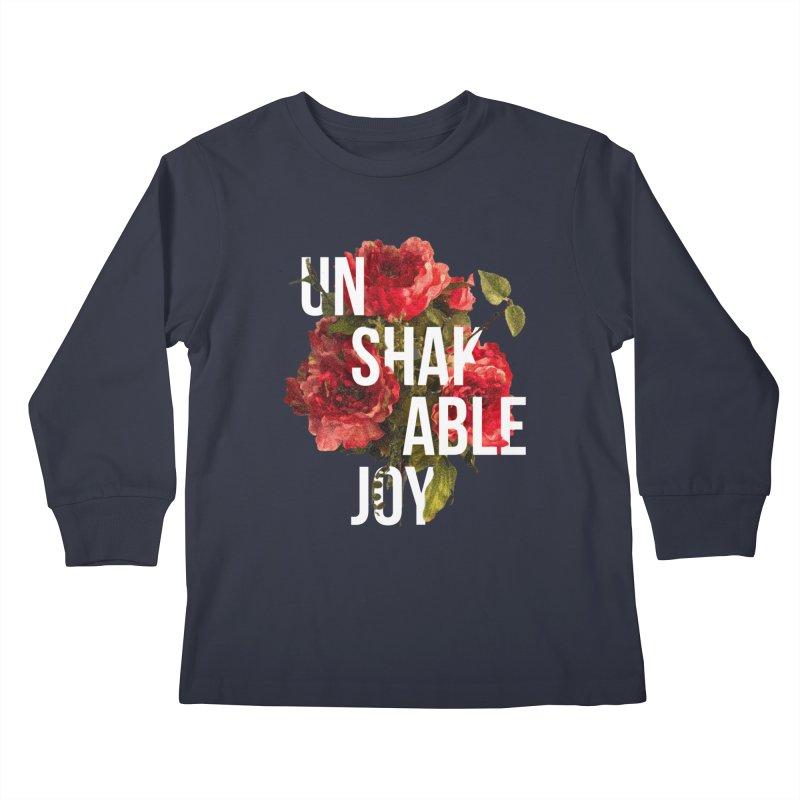 Unshakable Joy Kids Longsleeve T-Shirt by JARED CRAFT's Artist Shop