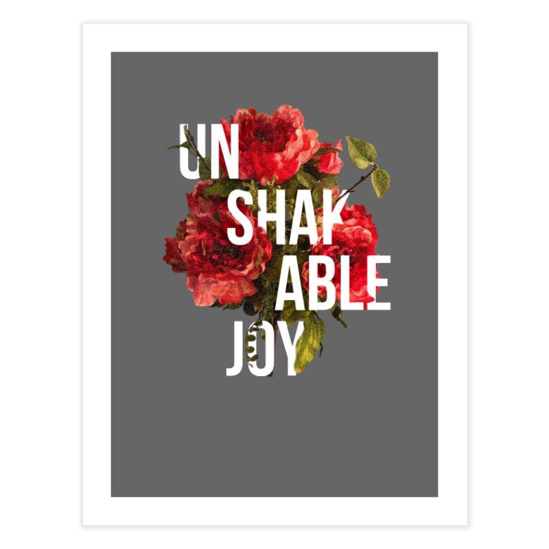 Unshakable Joy Home Fine Art Print by JARED CRAFT's Artist Shop