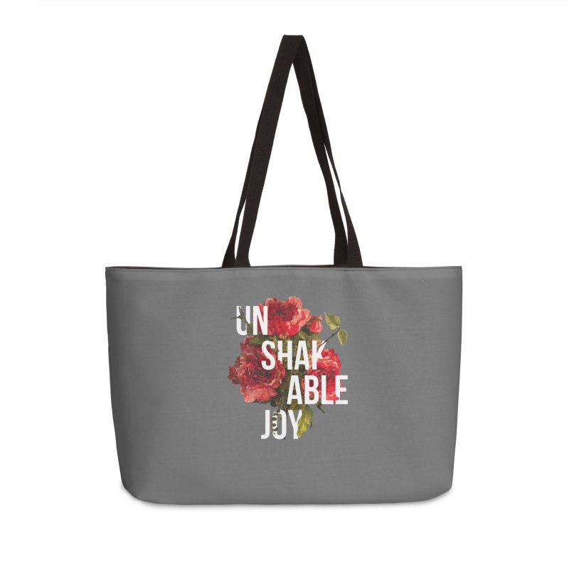 Unshakable Joy Accessories Bag by JARED CRAFT's Artist Shop