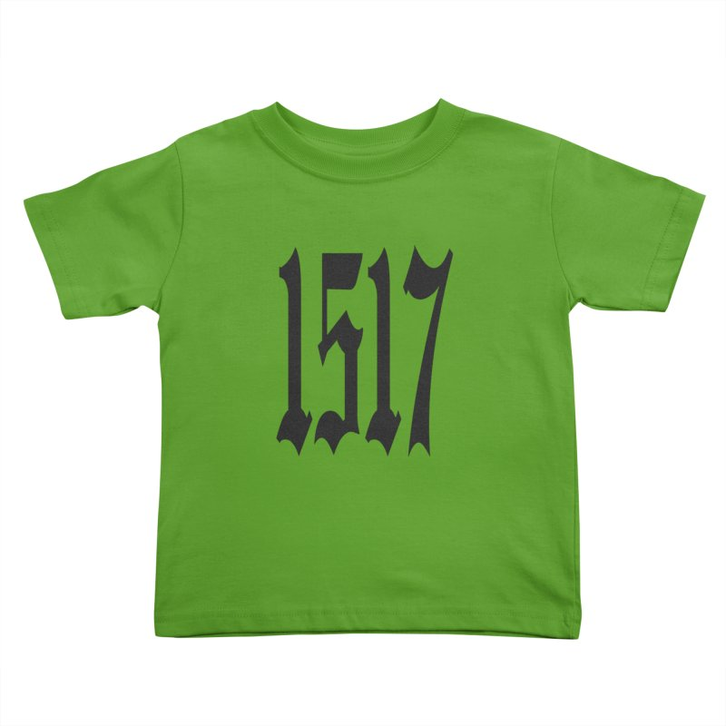 1517 (Black Numbers) Kids Toddler T-Shirt by JARED CRAFT's Artist Shop