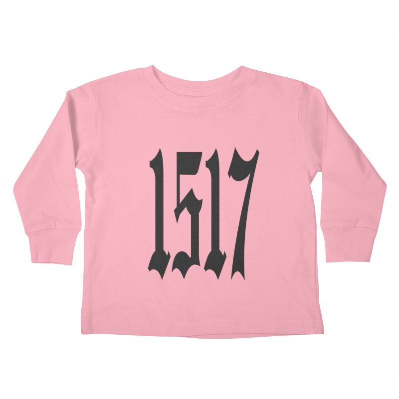 1517 (Black Numbers) Kids Toddler Longsleeve T-Shirt by JARED CRAFT's Artist Shop