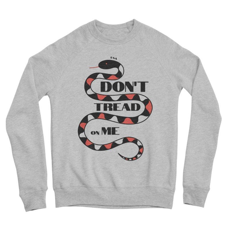 Gadsden (Black Snake) Men's Sweatshirt by JARED CRAFT's Artist Shop