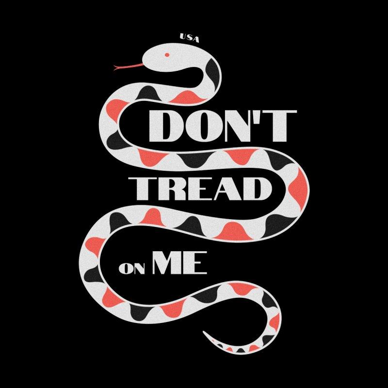 Gadsden (White Snake) Men's Sweatshirt by JARED CRAFT's Artist Shop