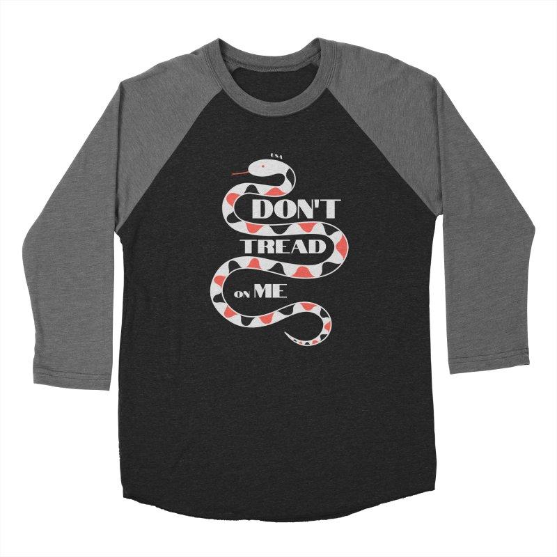 Gadsden (White Snake) Women's Longsleeve T-Shirt by JARED CRAFT's Artist Shop