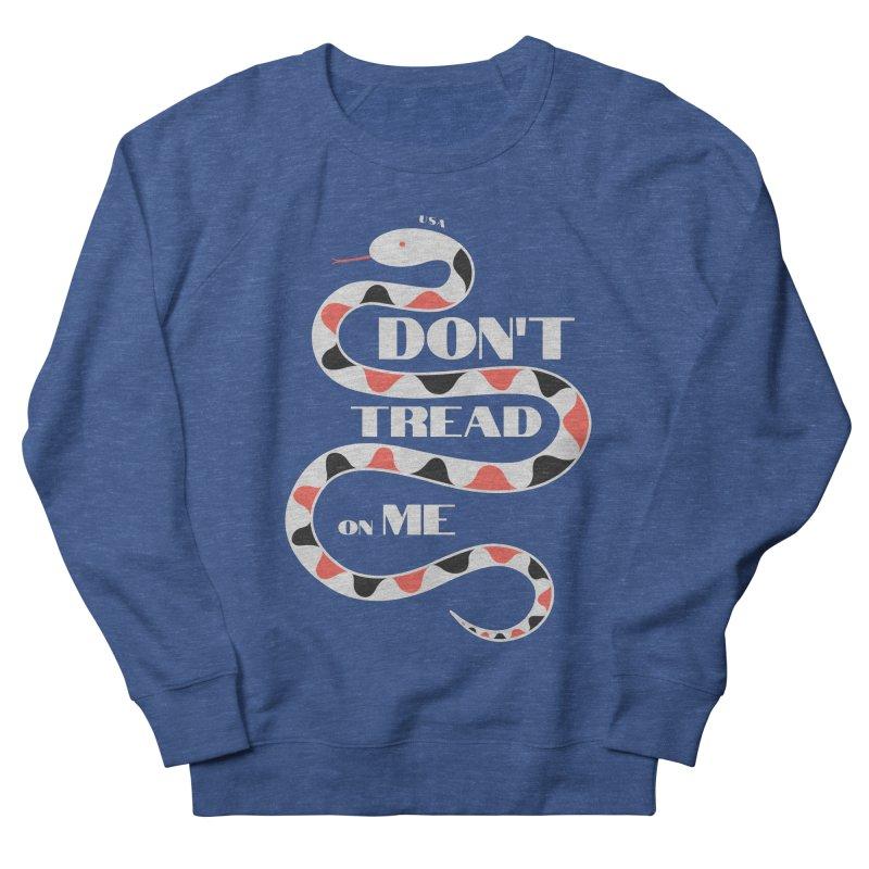 Gadsden (White Snake) Women's Sweatshirt by JARED CRAFT's Artist Shop