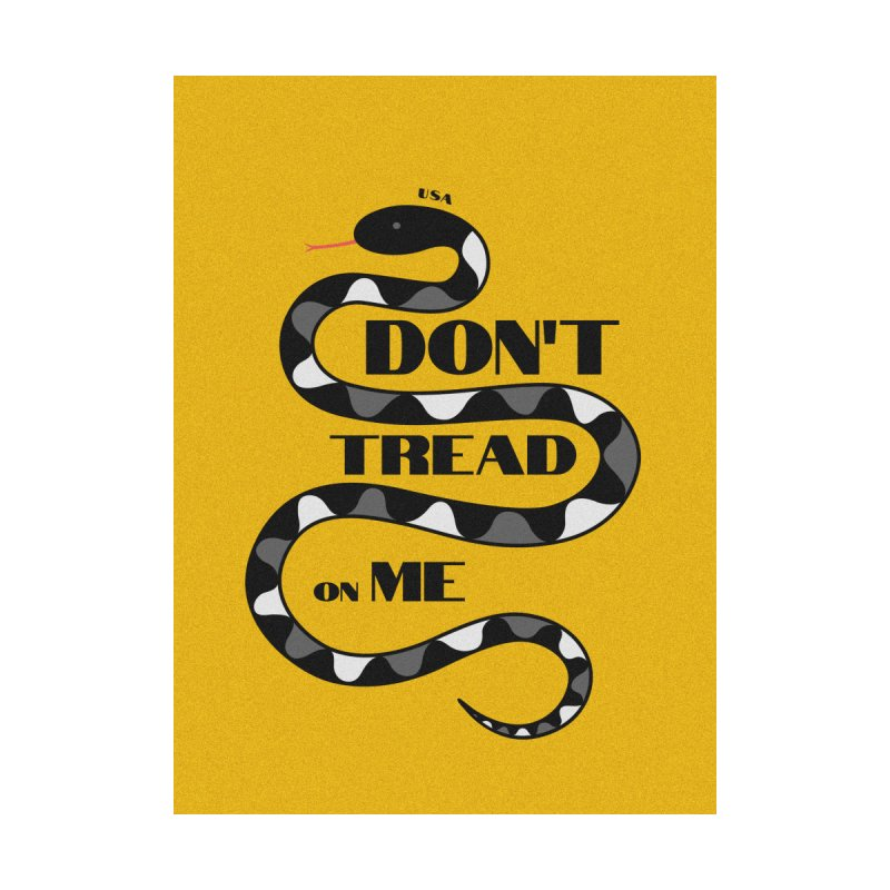 Gadsden Flag Home Tapestry by JARED CRAFT's Artist Shop