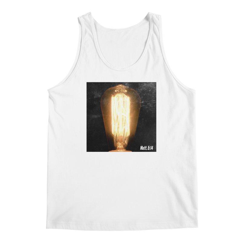 Light It Up Men's Tank by JARED CRAFT's Artist Shop