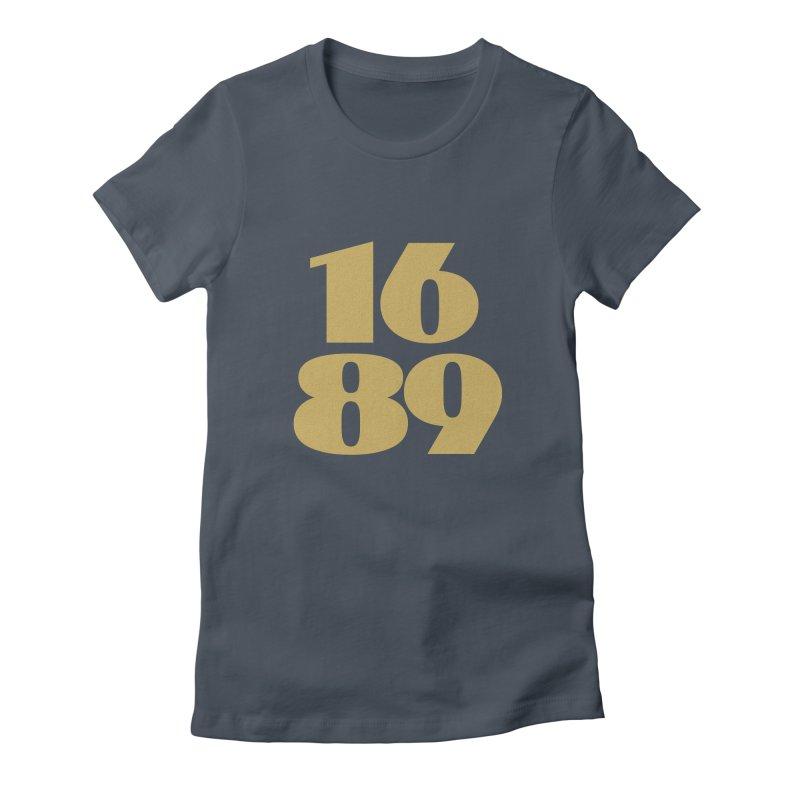 1689 Gold Women's T-Shirt by JARED CRAFT's Artist Shop