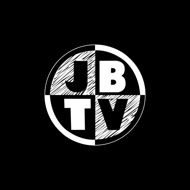 JBTV Circle Logo Men's V-Neck by JBTV