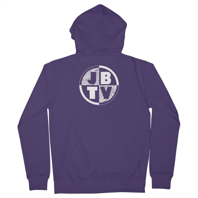 JBTV Circle Logo Women's Zip-Up Hoody by JBTV