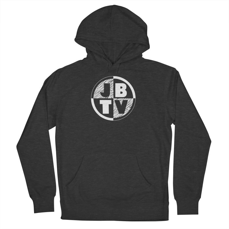 JBTV Circle Logo Women's French Terry Pullover Hoody by JBTV