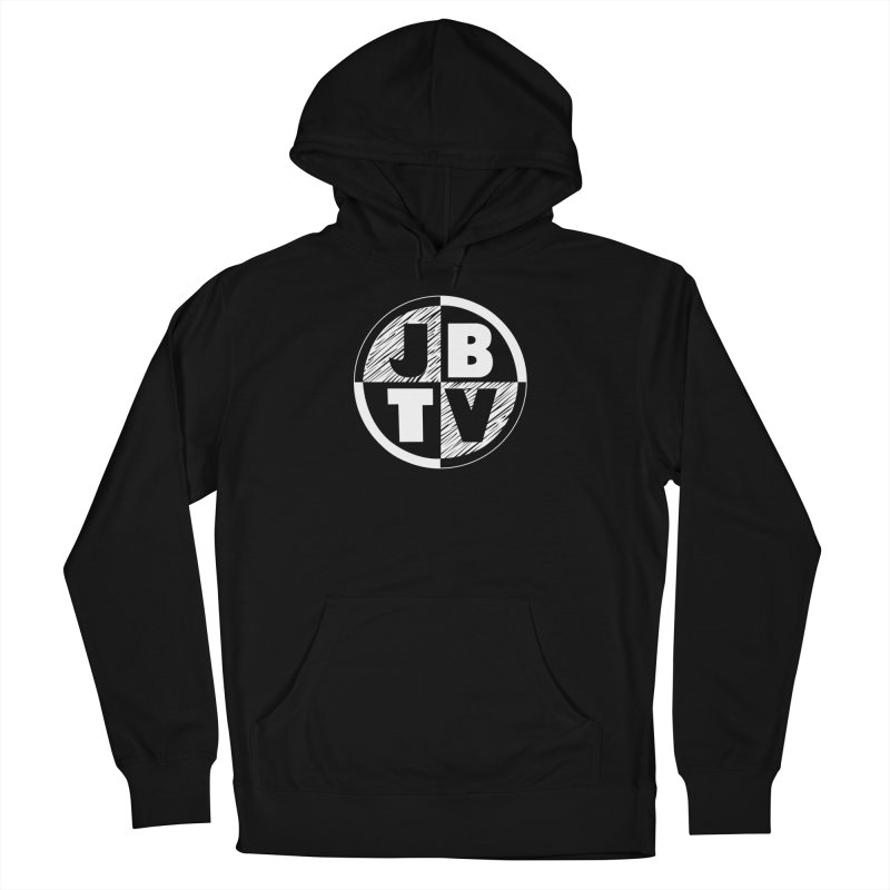 JBTV Circle Logo Women's French Terry Pullover Hoody by JBTV