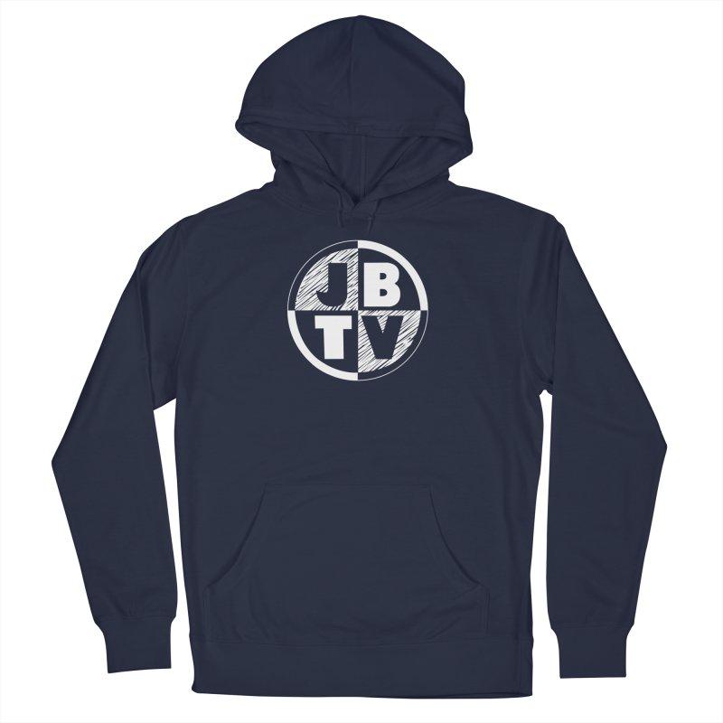 JBTV Circle Logo Women's French Terry Pullover Hoody by JBTV's Artist Shop