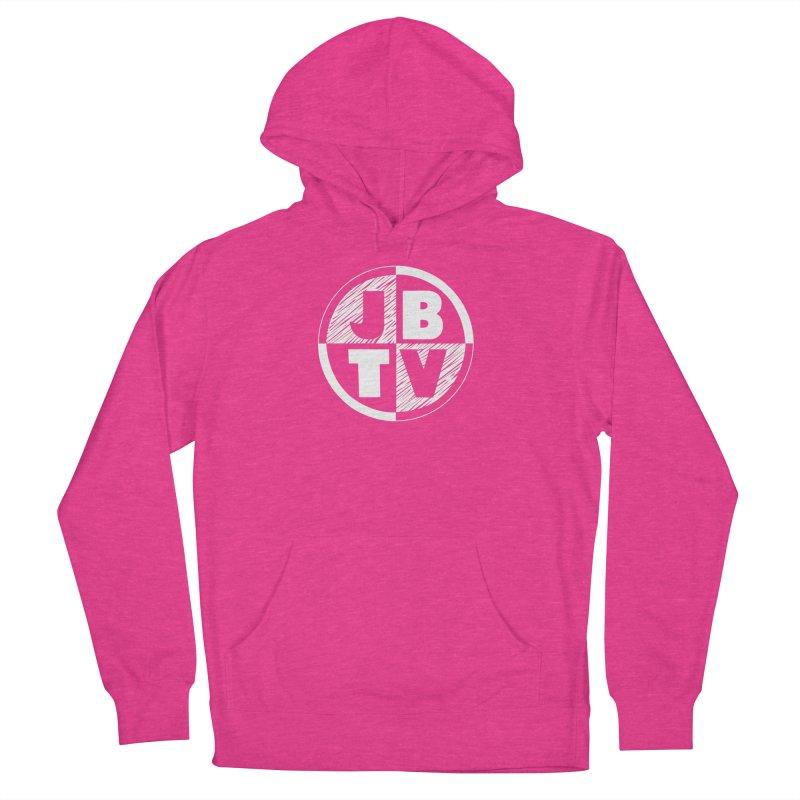 JBTV Circle Logo Men's French Terry Pullover Hoody by JBTV