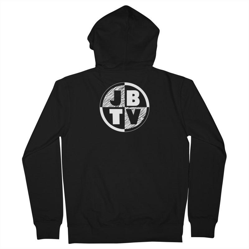 JBTV Circle Logo Women's Zip-Up Hoody by JBTV's Artist Shop