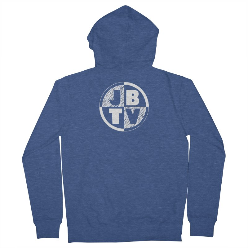 JBTV Circle Logo Men's Zip-Up Hoody by JBTV