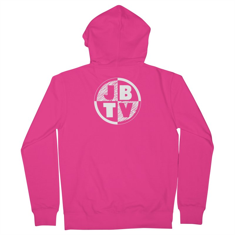 JBTV Circle Logo Men's Zip-Up Hoody by JBTV's Artist Shop