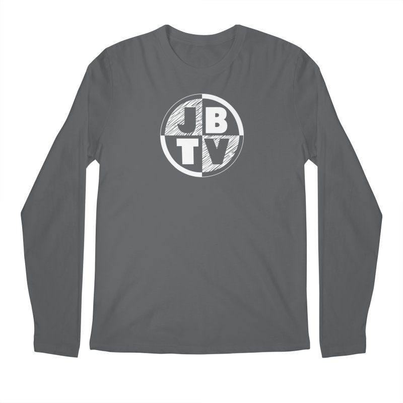 JBTV Circle Logo Men's Regular Longsleeve T-Shirt by JBTV