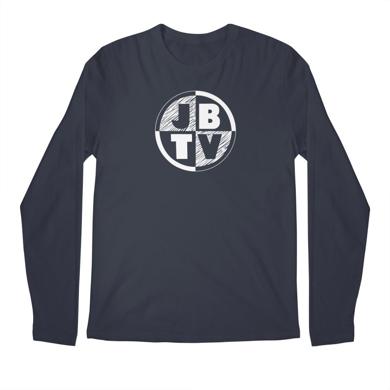 JBTV Circle Logo Men's Longsleeve T-Shirt by JBTV's Artist Shop