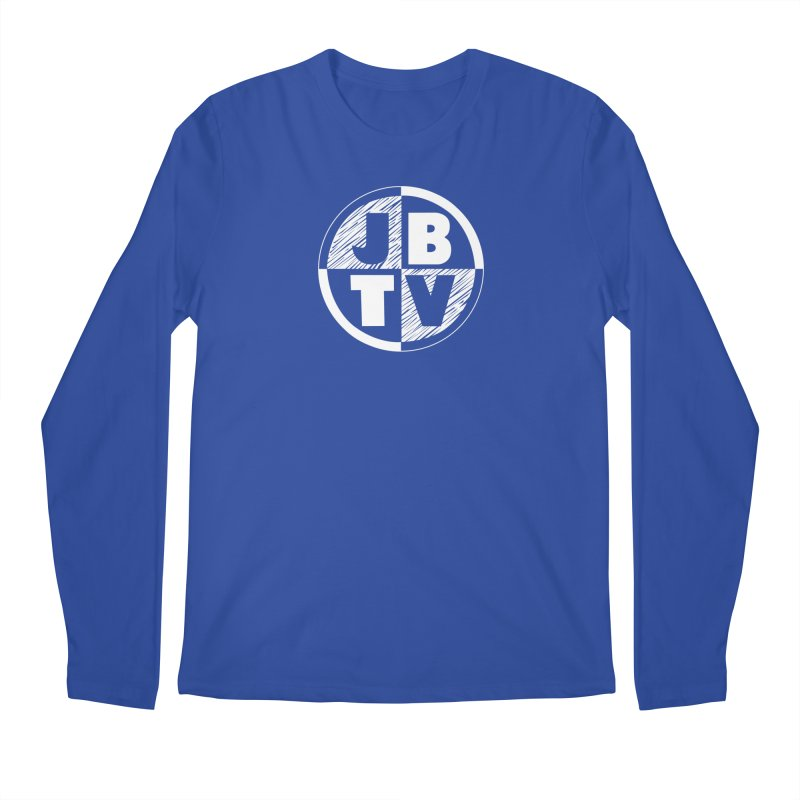 JBTV Circle Logo Men's Regular Longsleeve T-Shirt by JBTV's Artist Shop