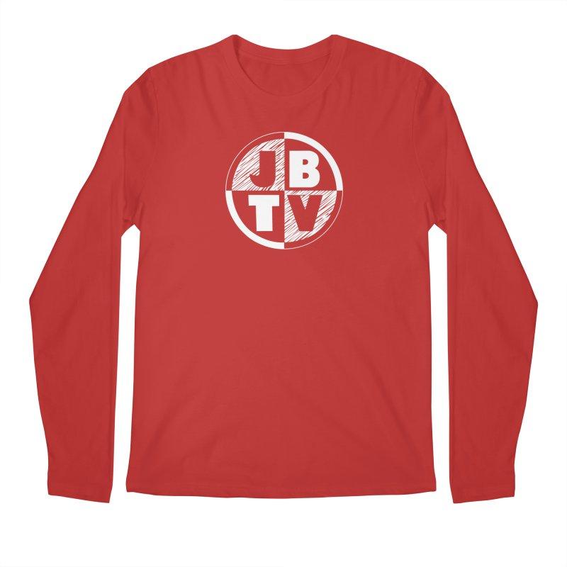 JBTV Circle Logo Men's Regular Longsleeve T-Shirt by JBTV's Artist Shop