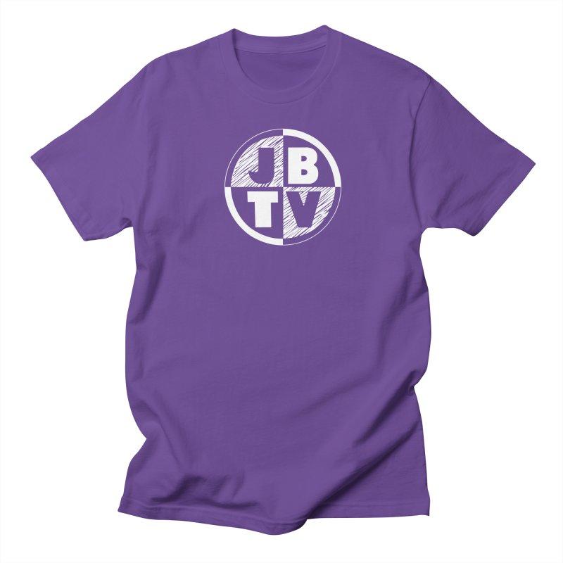JBTV Circle Logo Men's Regular T-Shirt by JBTV