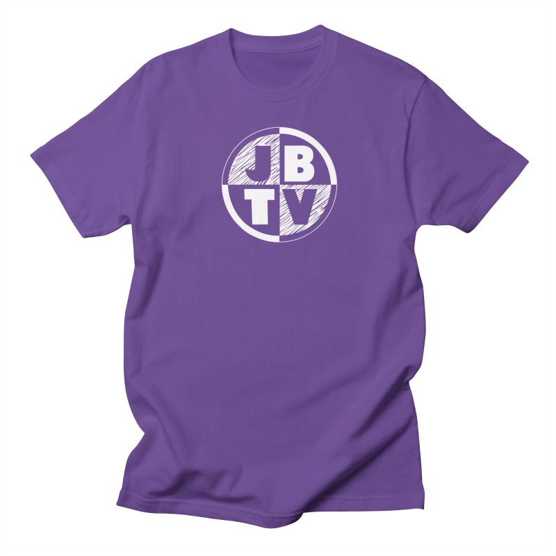 JBTV Circle Logo Men's T-shirt by JBTV's Artist Shop