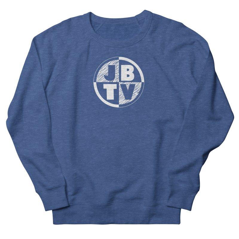JBTV Circle Logo Women's French Terry Sweatshirt by JBTV's Artist Shop