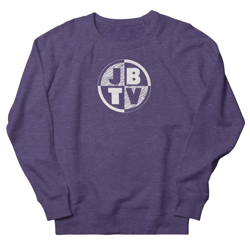 JBTV Circle Logo Women's French Terry Sweatshirt by JBTV