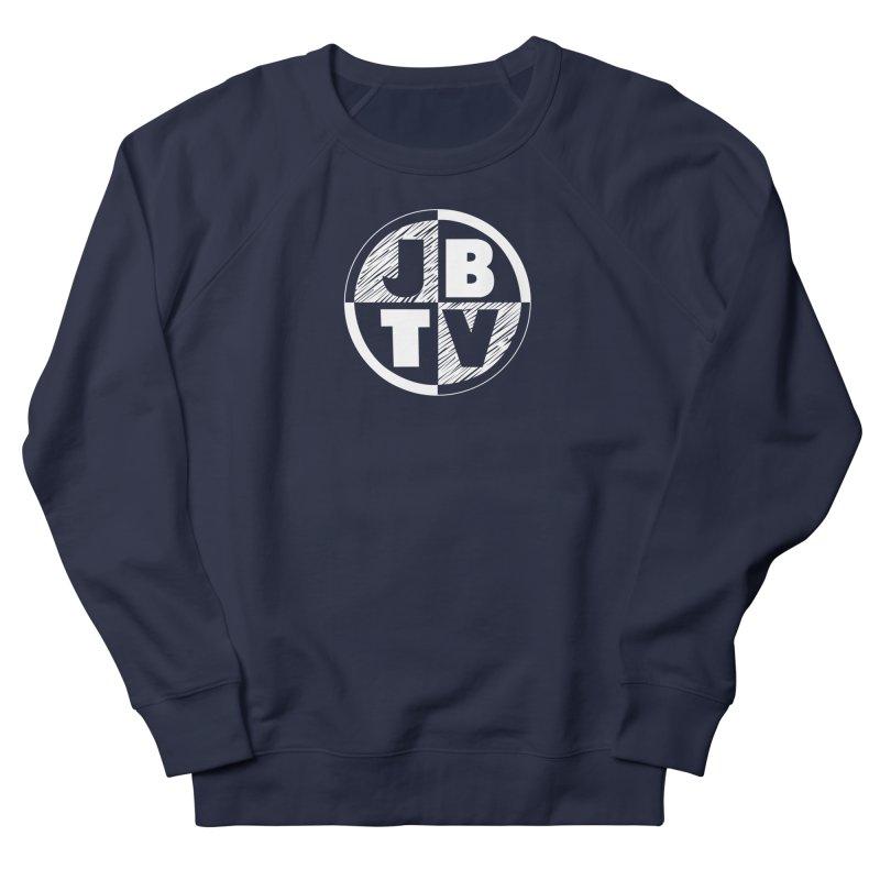 JBTV Circle Logo Men's French Terry Sweatshirt by JBTV's Artist Shop