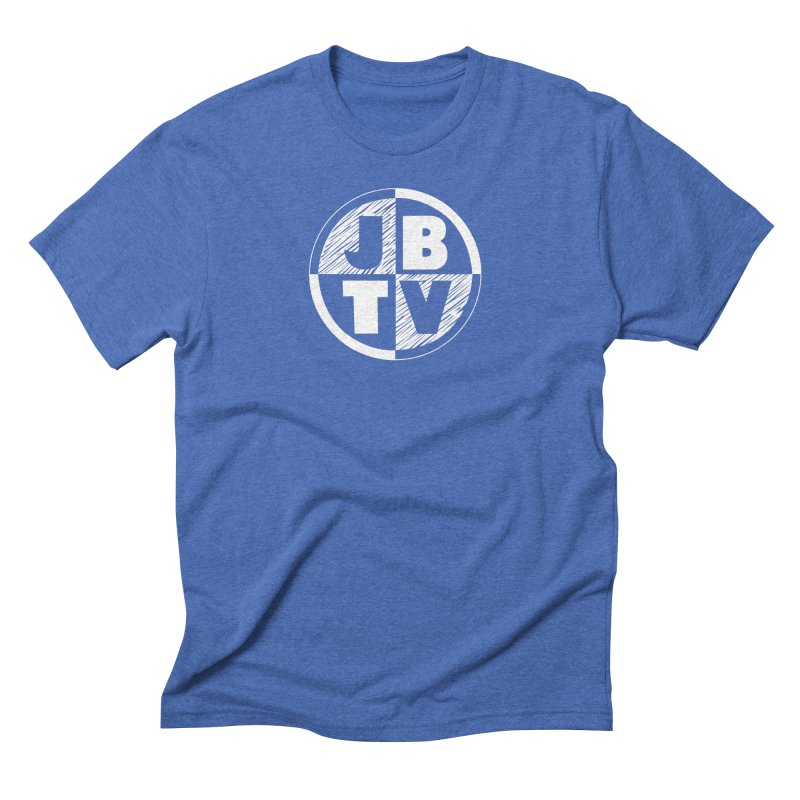 JBTV Circle Logo Men's Triblend T-Shirt by JBTV's Artist Shop