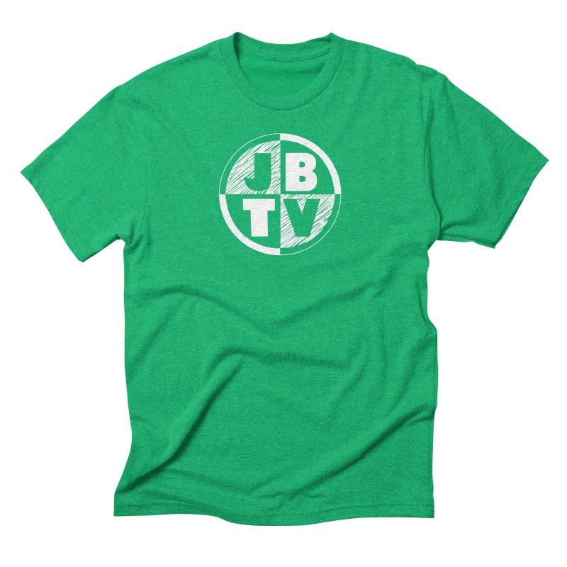 JBTV Circle Logo Men's Triblend T-Shirt by JBTV