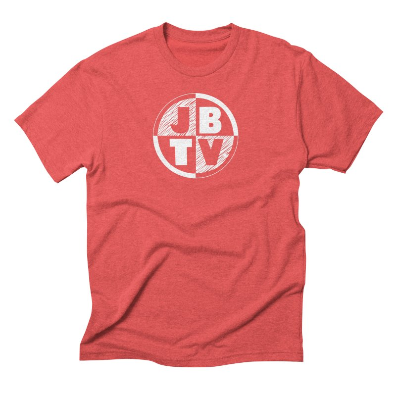 JBTV Circle Logo Men's Triblend T-shirt by JBTV's Artist Shop