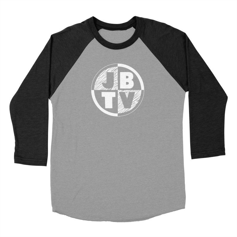 JBTV Circle Logo Women's Baseball Triblend T-Shirt by JBTV's Artist Shop