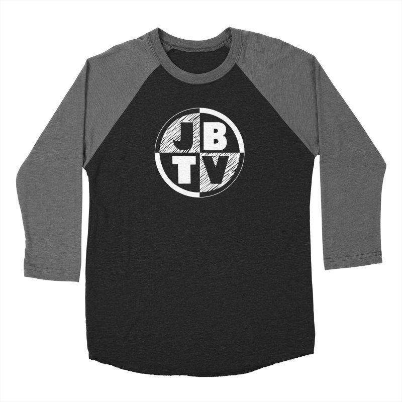 JBTV Circle Logo Men's Baseball Triblend Longsleeve T-Shirt by JBTV's Artist Shop