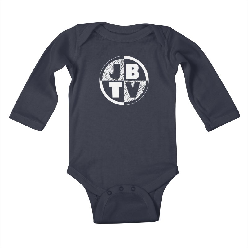 JBTV Circle Logo Kids Baby Longsleeve Bodysuit by JBTV